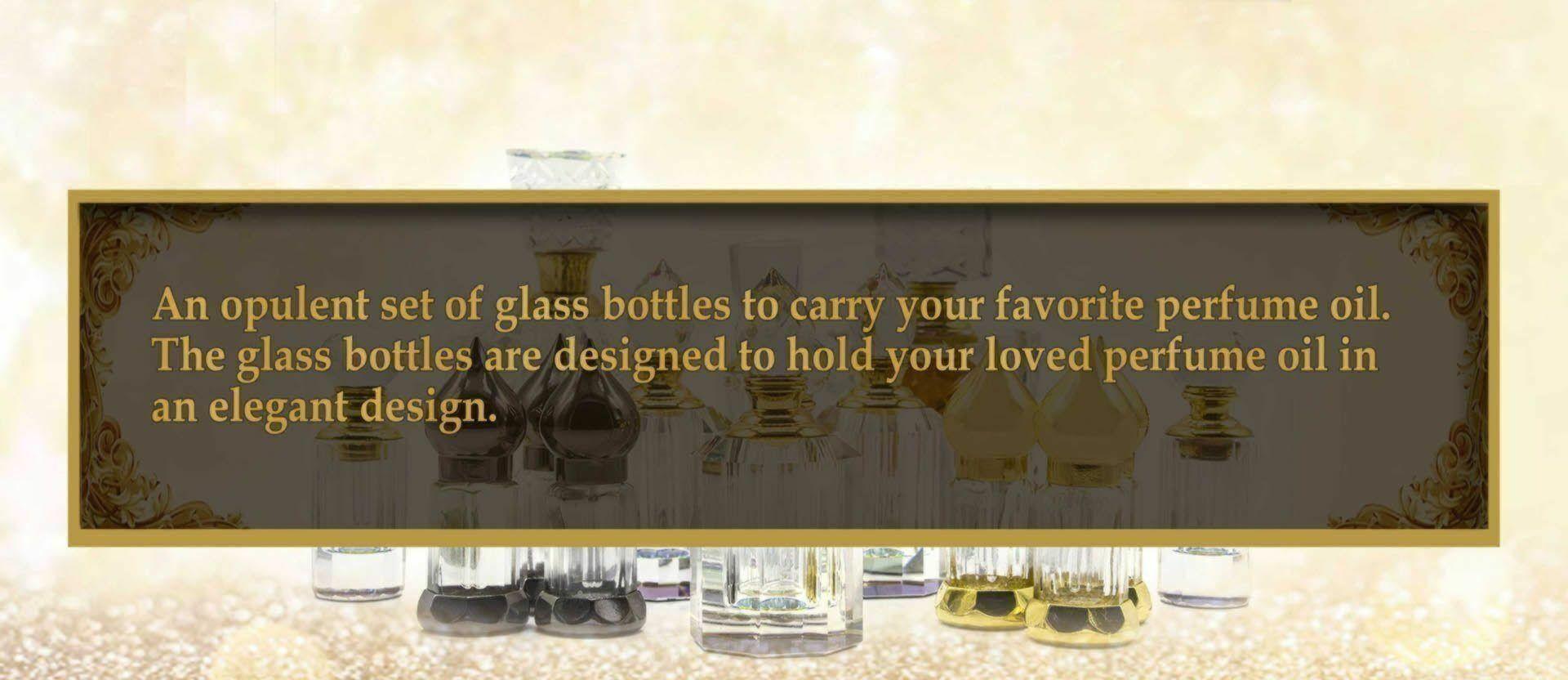 Refillable Tola Glass Bottles