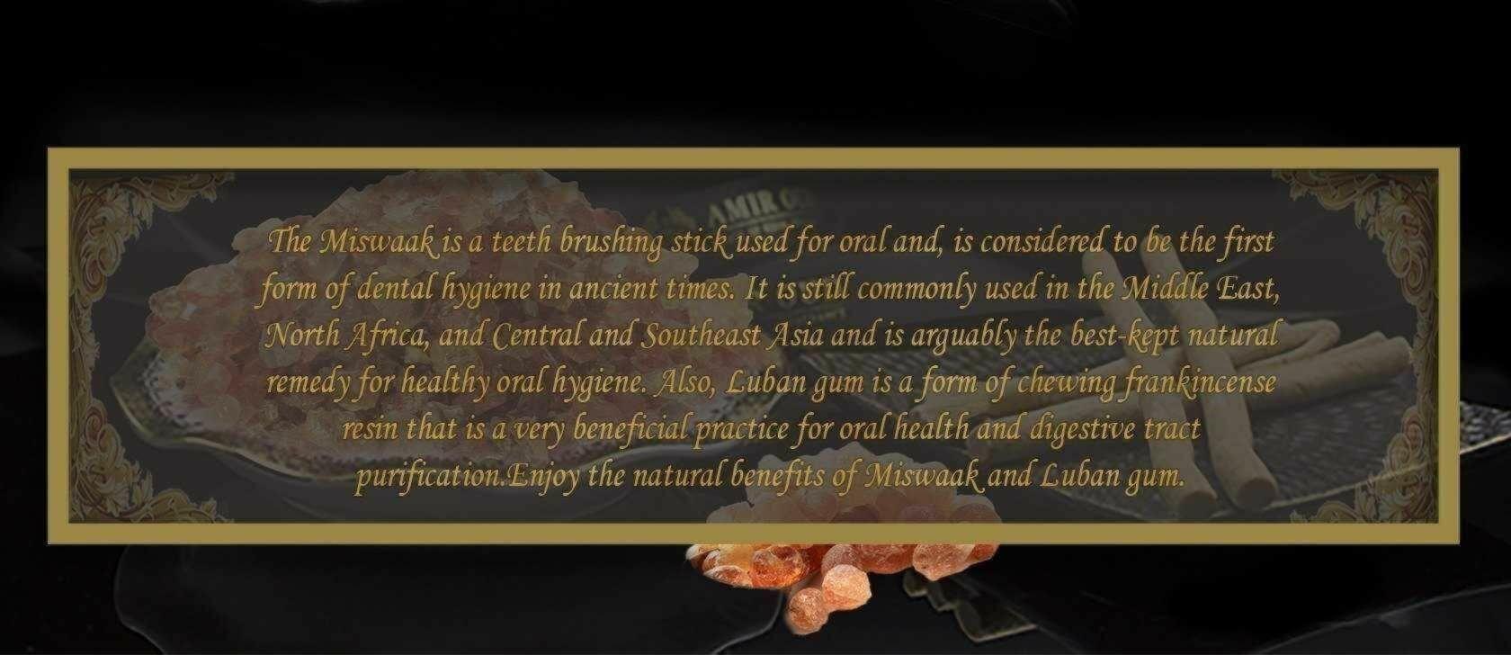 Miswak & Arabian Gum (Luban)